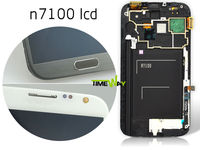 Cheap high copy for samsung note 2 lcd with digitizer(with frame)