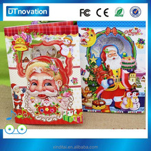 Fashion wholesale greeting cheap christmas card