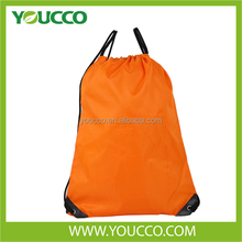 Promotional Polyester Drawstring Gift Backpack Bag Cheap Shopping Bag
