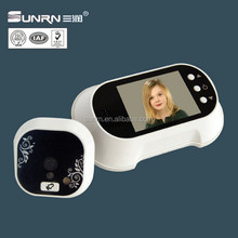 "2.8"" touch screen intelligent wide angle peephole digital door viewer"