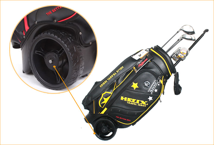 leather golf bag view golf cart bag helix product