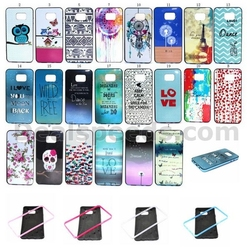 LOVE Pattern Detachable Anti-slip Design TPU+PC Bumper Hybrid Case PC Hard Back Case for Samsung Galaxy Note 5 N9200