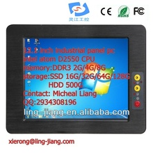 12.1 inch waterproof degree IP65 industrial personal computer (PPC-121C), with wide pressure 6~30V