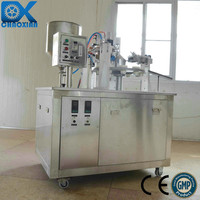 CX plastic and composite beverage tube filling and sealing machine