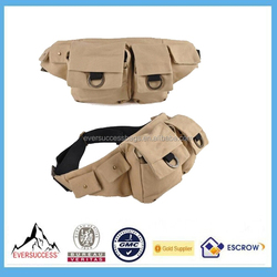 Anti-theft Money waist bag/ money belt waist bag factory