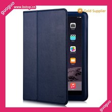 2015 protable folding slim leather case for Ipad air 2