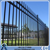garden residential black powder coated wrought iron fence (factory sale and export)