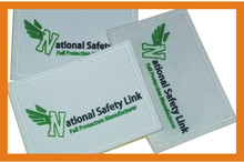 Custom rubber badge for workwear/outdoor gear