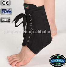 AN-201 health care orthopedic reinforced steel stays lace ankle brace/ankle support