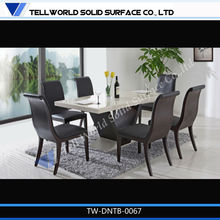 Environmental material solid surface modern dining table size,chiniot wooden furniture pakistan,dining table