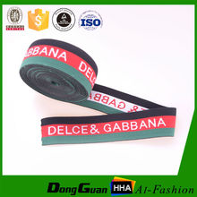 high quality Promotional Wholesale custom Eco-friendly underwear jacquard elastic
