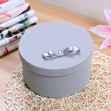Candy Boxes Round Shaped Wedding Favors Party Gift Boxes Holders
