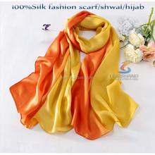 Women fashionable scarf dresses 2015 new arrival muslim scarves/fashion silk scarf