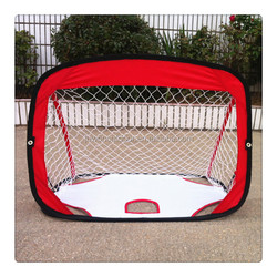 Kids mini red and white pop up multi net