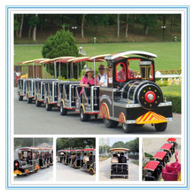 Fwulong The Newest Design Used Tourist Train With High Quality