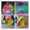 Small colorful kids plastic aqua pedal boat for sale