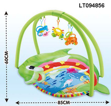 2014 dolphin cotton baby play mat, plush baby sports mats, baby floor sports toys