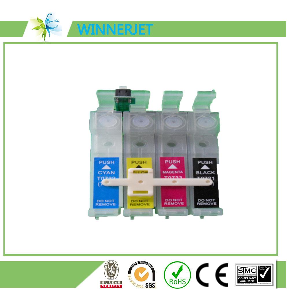 리필 잉크 카트리지 자동 리셋 칩 엡손 T13/TX121/TX220/T10/T11/T20/T21/TX101/TX110/TX300F/TX111 등