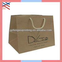 Large Brown Paper Bags for Shopping