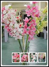 de alta qualidade por atacado de seda da flor da orquídea