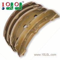 Golf Cart 101146302 Brake shoe set for splined hub drums without self adjusting brakes (8/Pkg)