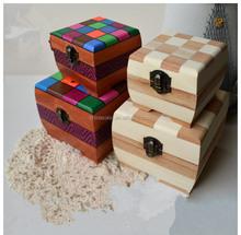 new brand square wooden box