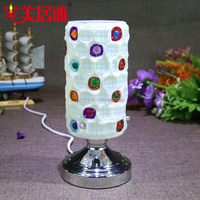decorative electric oil lamp, fragrance lamp, mosaic candle holder MA6206