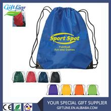 Custom Polyester Drawstring Backpack Bag/Gym Ruck Sack/Outdoor Sport Backpack