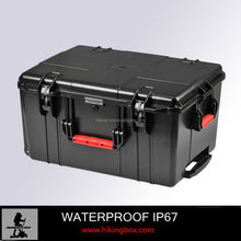 IP67 Hard ABS watertight plastic tool case /shockproof injection mold plastic equipment case HIKINGBOX Model No.HTC025
