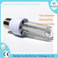 U shape warm white led light bulb E27 SMD3014 led 5W for indoor housing