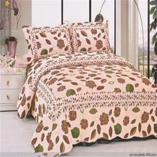 European Plain designs customized cotton bed cover cheap designer luggage quilt disposable jaipur cotton bedsheet