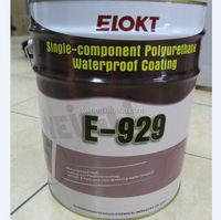 Single Component High Elastic Polyurethane Waterproof Paint for Roof/Basement