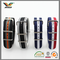 Top quality wrist watches fabric nato casual watch strap