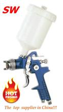 HVLP paint spray gun H827 for car pneumatic tyre