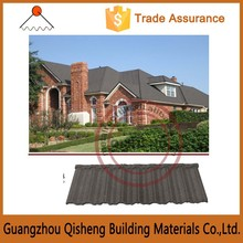 High Quality Colorful Sand Coated Metal Roof tile for house/High Quality building materials for sale in dubai Rustic Roof Tiles