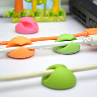 hot sales round two holes cable holder high quality multipurpose wire nail plastic wall cable clips