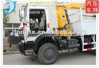 6x6 heavy duty BEIBEN truck with 10 tons telescopic XCMG crane,truck with crane,truck crane +86 13597828741