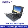 Stepfly sf-y07d 7 pulgadas de pantalla lcd via8880 a9 de doble núcleo 1.5 ghz 4.2 android mini ordenador portátil