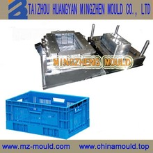 customer made high quality plastic vegetable and fruit container mould