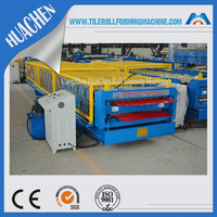 metal roofing r panel and corrugated panel roll forming machine made in china