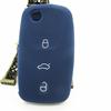 Best quality silicone car key case, rubber silicone car key cover, car plastic silicone key covers car key case for VW