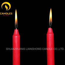 common white and colorful paraffin wax decorated candles