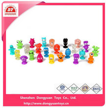 """Soft Rubber Stikeez Figurines Small Toys for 1.1""""Capsule toys"""
