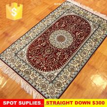 260L Unique design Tabriz hand knotted carpet chinese silk on silk carpet