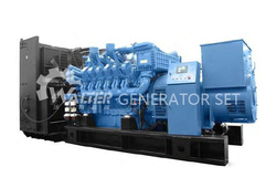 1750kva/1400kw with MTU diesel engine generator for sale