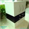Wholesale make up box luxury cosmetic display stand lucite makeup organizer from Guangzhou Satom