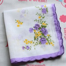 custom design fashionable ladies handkerchiefs wholesale