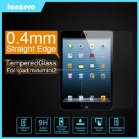 Straight Edge Tempered Glass Screen Protector For iPad Mini/iPad Mini 2 Anti-Scratch 9H 0.4mm for iPad Mini/iPad Mini 2