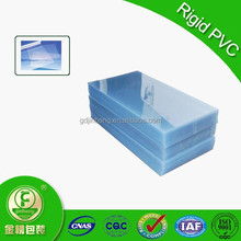 PVC cover clear plastic sheet for thermoforming