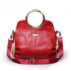 Wine leather bags for women made in Italy